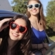 Happy Teenage Girls Or Women In Car At Seaside 25 - VideoHive Item for Sale
