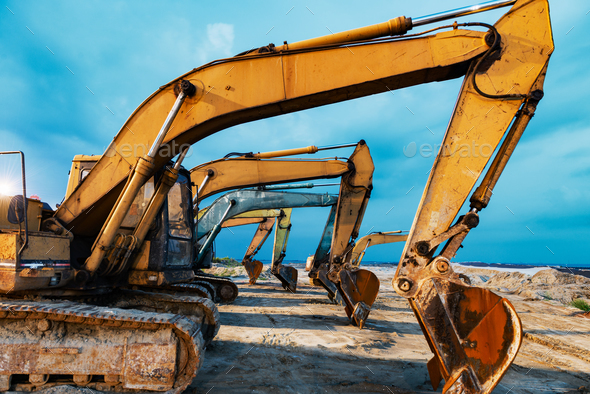 excavator - Stock Photo - Images