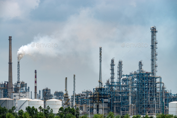 Chemical plant - Stock Photo - Images