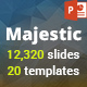 Majestic PowerPoint Presentation Template
