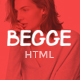 Begge - Modern Fashion Shop HTML Template Nulled
