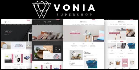 Vonia – Furniture Bootstrap Template