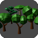 Low Poly Forest Tree Pack - 3DOcean Item for Sale