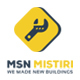 MSN Mistiri - Construction PSD Template