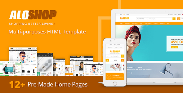 AloShop – Multi-Purposes HTML Template