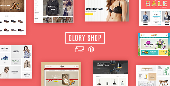 Glory Shop - Multipurpose Magento Theme - Shopping Magento
