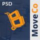 MoveCo - Moving Company PSD Template Nulled
