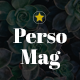 PersoMag - Clean & Personal Blogger Theme Nulled