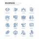 Line Business Icons - GraphicRiver Item for Sale
