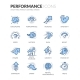 Line Performance Icons - GraphicRiver Item for Sale