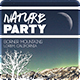 Nature Party Flyer Template - GraphicRiver Item for Sale
