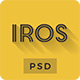 iRos - Creative One Page Portfolio PSD Template - ThemeForest Item for Sale