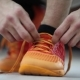 Athlete Tying Shoelaces On Sneakers - VideoHive Item for Sale