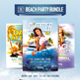3in1 Beach Party Bundle - GraphicRiver Item for Sale
