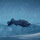 Strange Alien Object In The Snow - VideoHive Item for Sale