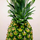 Pineapple Rotating on White Background - VideoHive Item for Sale
