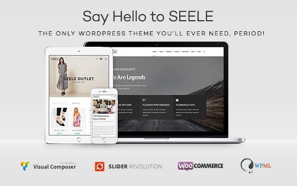 Seele - Clean Multi-Purpose WordPress Theme - Creative WordPress
