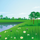 Summer landscape - GraphicRiver Item for Sale