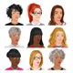 Different Female Avatars - GraphicRiver Item for Sale
