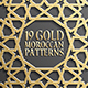 Gold Islamic Seamless Pattern Set 1 - GraphicRiver Item for Sale