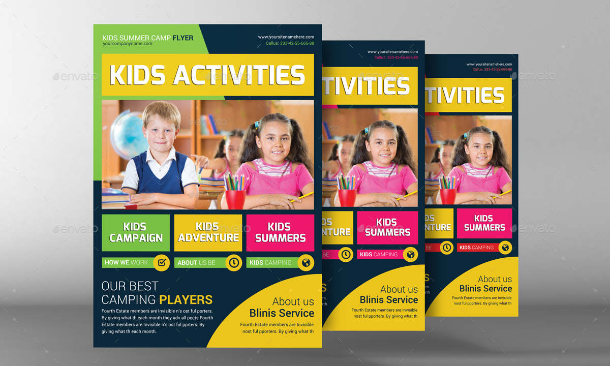Kids school education flyer template by graphicforestnet graphicriver kids school education flyer template corporate flyers preview image 01g maxwellsz