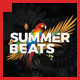 Glam Summer Beats Flyer Template - GraphicRiver Item for Sale