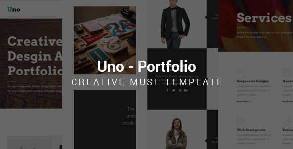 Uno - Muse Template - Creative Muse Templates