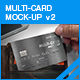 Multi-Card Mock-up v2 - GraphicRiver Item for Sale