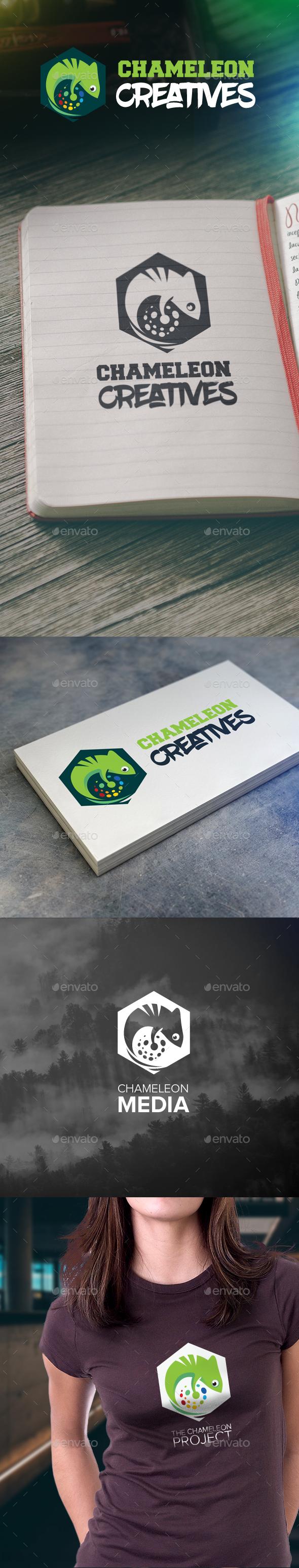 Chameleon Creatives Logo - Logo Templates