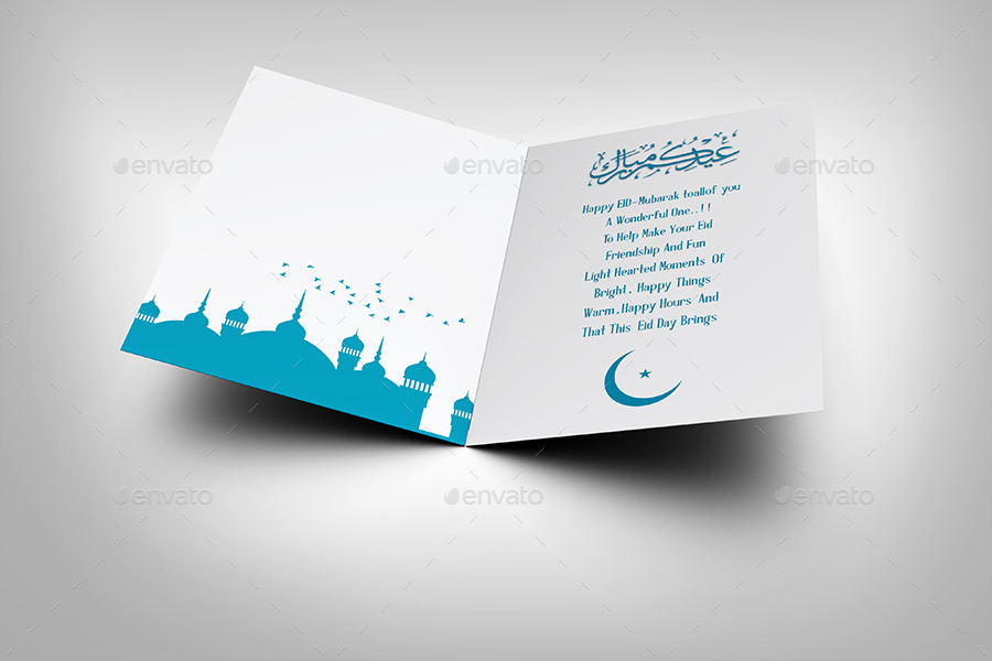 Eid mubark greeting card template by owpictures graphicriver eid mubark greeting card template stopboris Image collections