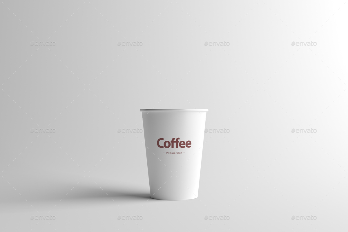 Paper Coffee Cup Packaging Mock Up Small By Zeisla