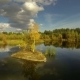 Small Island On The Lake - VideoHive Item for Sale