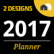 Minimalist Year Planner - GraphicRiver Item for Sale