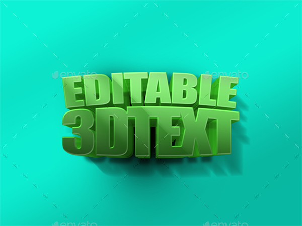 Realistic 3d Text Mockups V2 By Arrow3000 Graphicriver