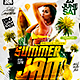 Summer Jam Flyer - GraphicRiver Item for Sale