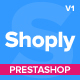Shoply - Responsive Prestashop 1.6 Theme Nulled