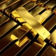 Endless Loopable Fine Gold Bars - VideoHive Item for Sale