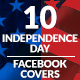 July 4th Facebook Covers - GraphicRiver Item for Sale