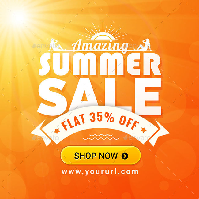Summer Sale Banners - Images Included By Hyov