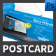Computer Hardware Shop Postcard Template - GraphicRiver Item for Sale