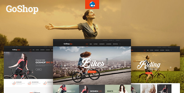 Image of GoShop - Multipurpose Commerce Drupal Theme