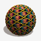 African Fabric Seamless Texture