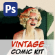 Monroe - Vintage Comic Kit - GraphicRiver Item for Sale