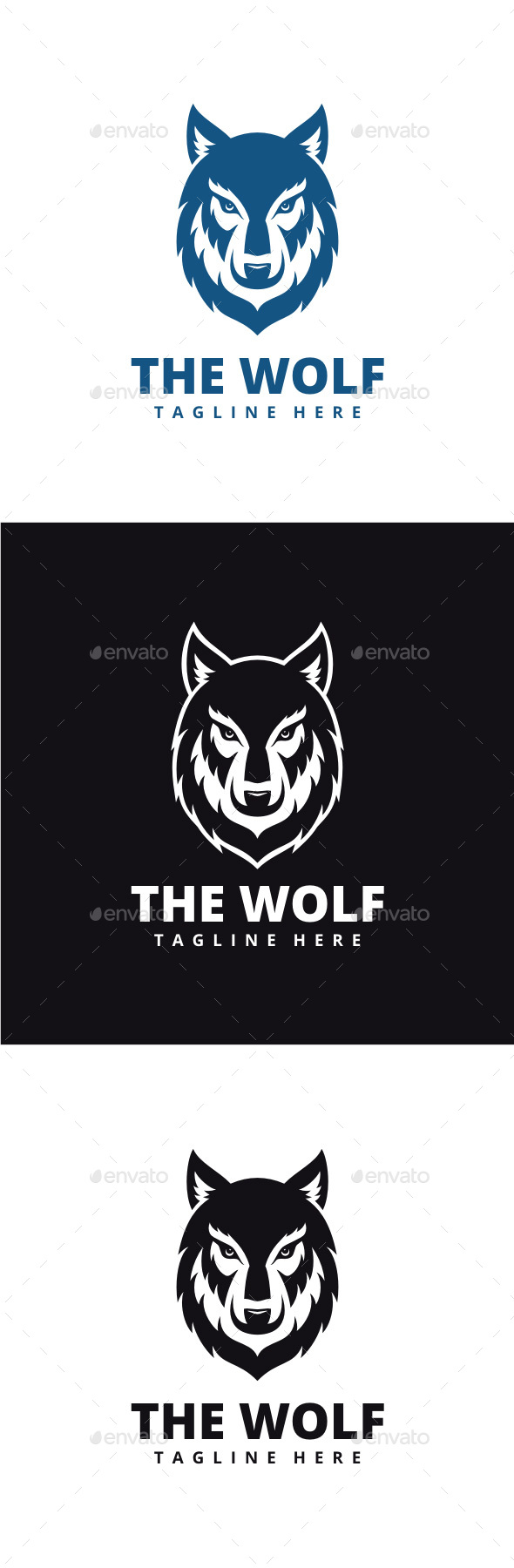 Wolf Logo - Animals Logo Templates