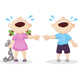 Offended Boy and Girl - GraphicRiver Item for Sale