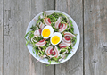 Dandelion salad with eggs and bacon - PhotoDune Item for Sale