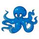 Blue Cartoon Octopus - GraphicRiver Item for Sale