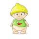 Cartoon Boy with Lemon Hat - GraphicRiver Item for Sale