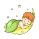 Baby Sleeping on the Moon - GraphicRiver Item for Sale