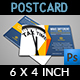 Tax and Accounting Postcard Template - GraphicRiver Item for Sale